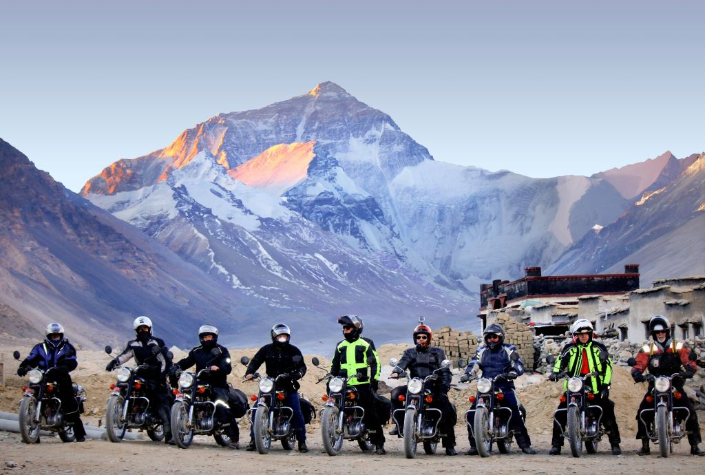 Motorcycle Everest