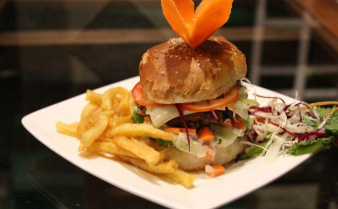 Nepalese Veggie Burger