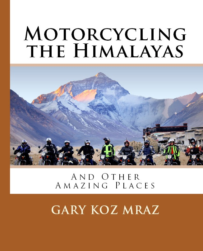 Motorcycling the Himalayas BookCover