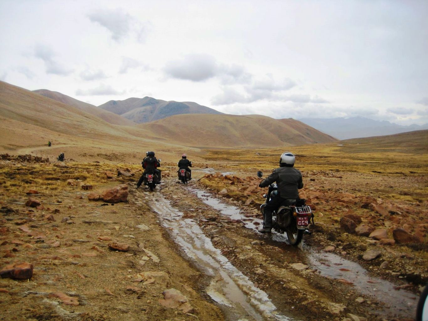Mt. Everest on motorcycles