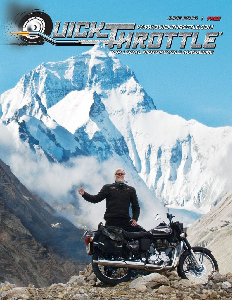Mt. Everest on a Royal Enfield