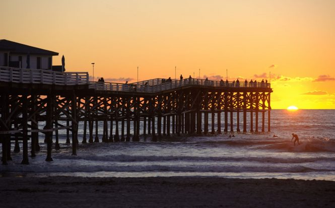 Crystal Pier - Pacific Beach, San Diego