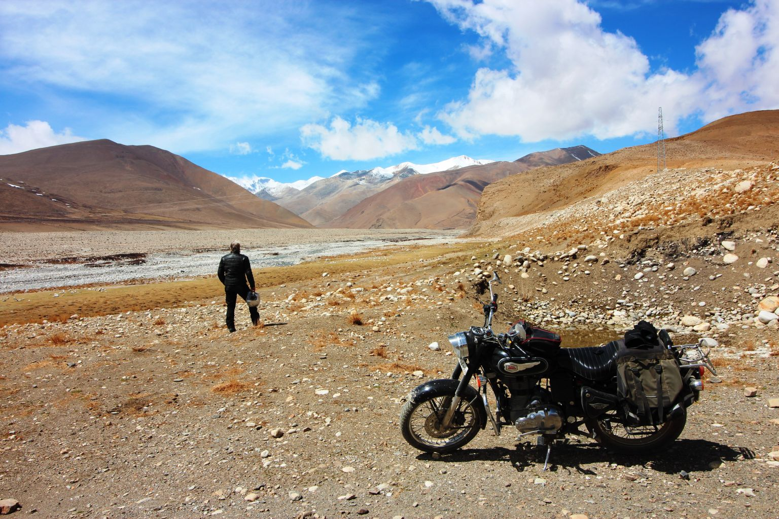 Motorcycling to My. Everest